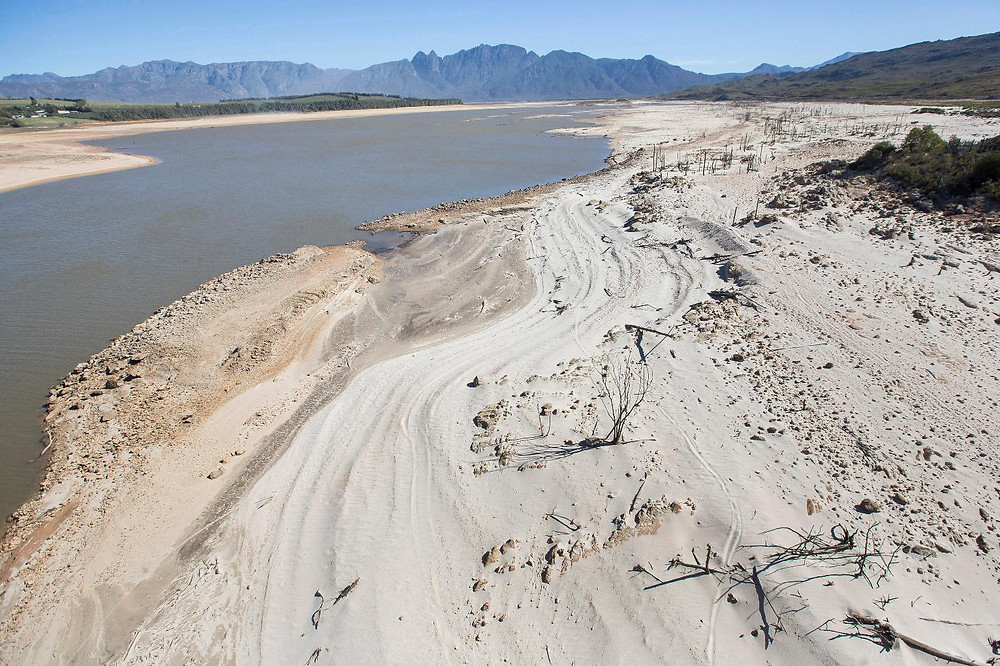 cape town reservoirs are empty