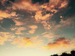 California Clouds at Sunset