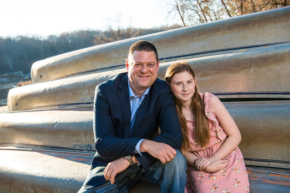 Dave Gerber and daughter jessie