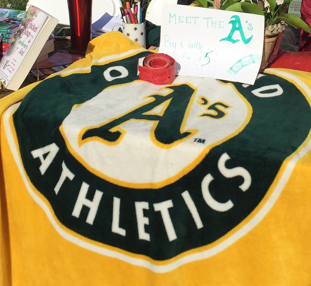 Buy A's tickets and raffle tickets for June 15th game