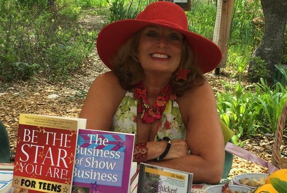 Cynthia Brian with books