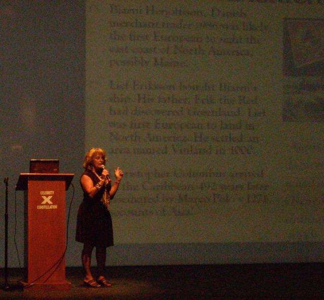 Cynthia Brian, Speaker