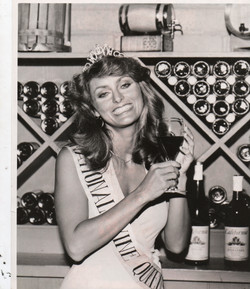 Cynthina Brian Wine Queen 1977-78