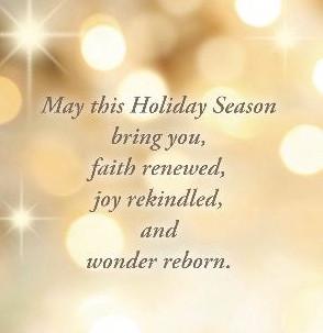 A Season of Wonder and Light