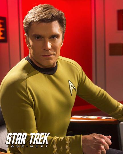 Vic Mignogna Star Trek Continues Star