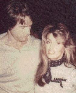 Warren Beatty with Cynthia Brian