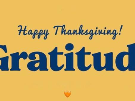 Thanksgiving and Gratitude, Design Trade Secrets, Rebuilding After Disaste