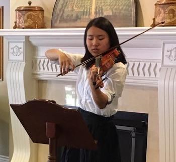 Brigitte Jia, Host, plays at Carnegie Hall