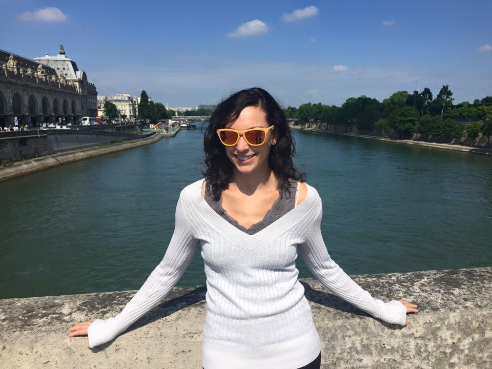 Catie Jarvis in Paris