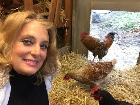 Earth Day and Wiggle, Wag, Cluck, Raising Chickens
