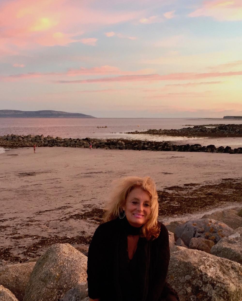 Sunset in Salthill, Ireland