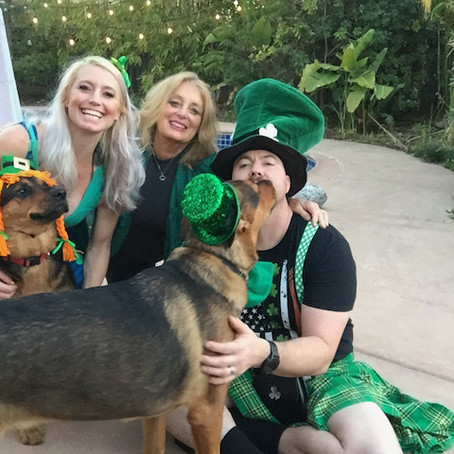 St. Patrick's Day, Spring Shamrocks, Preparing for 2nd Vaccine