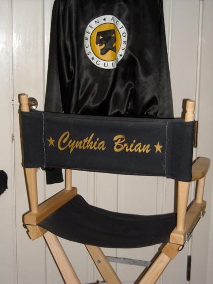 Actor-Producer, Cynthia Brian