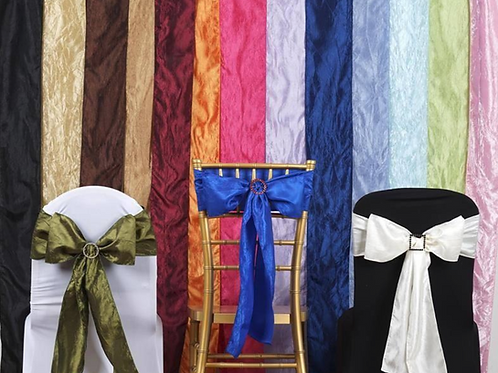 Deluxe Rentals: Chair/Drape Sashes