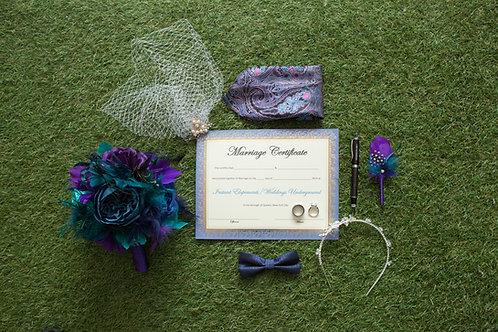 Deluxe Rentals: Flowers/ties/veils/pocket scarves