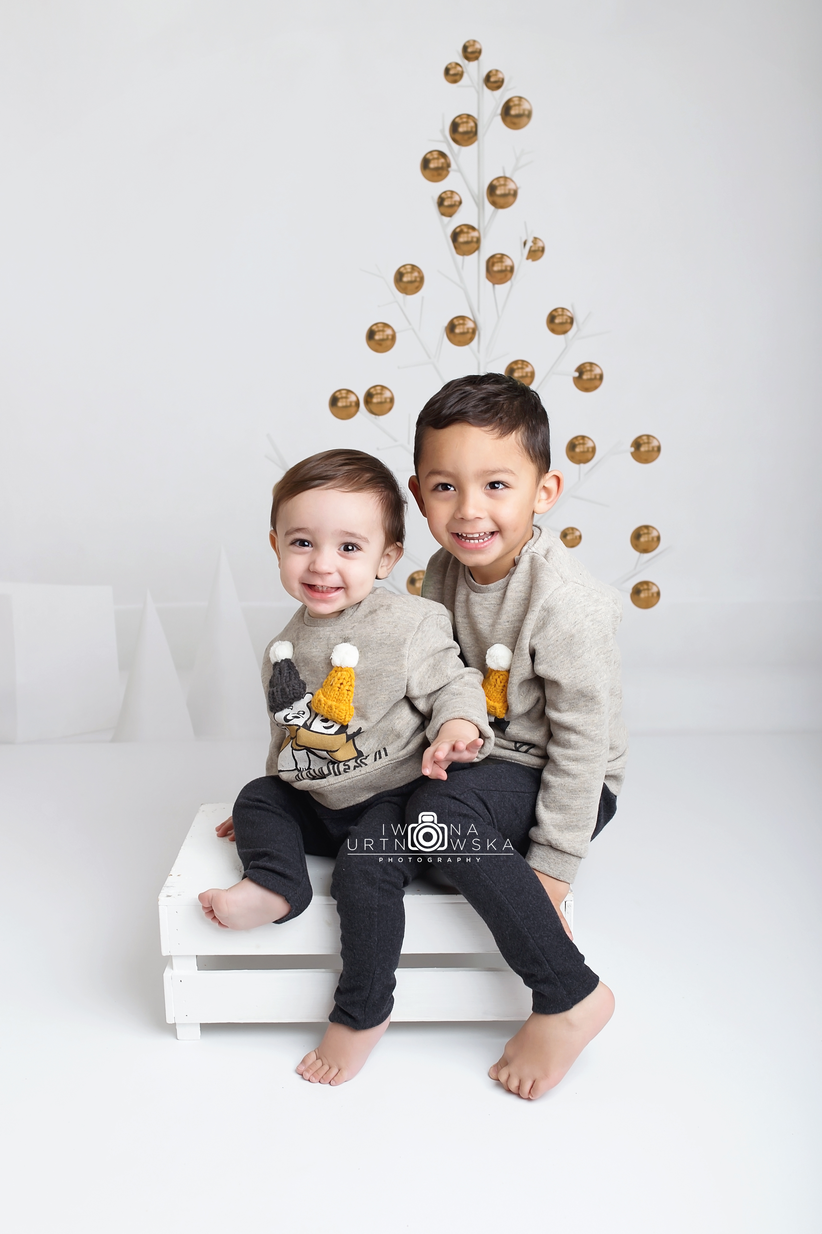 christmas mini session Telford