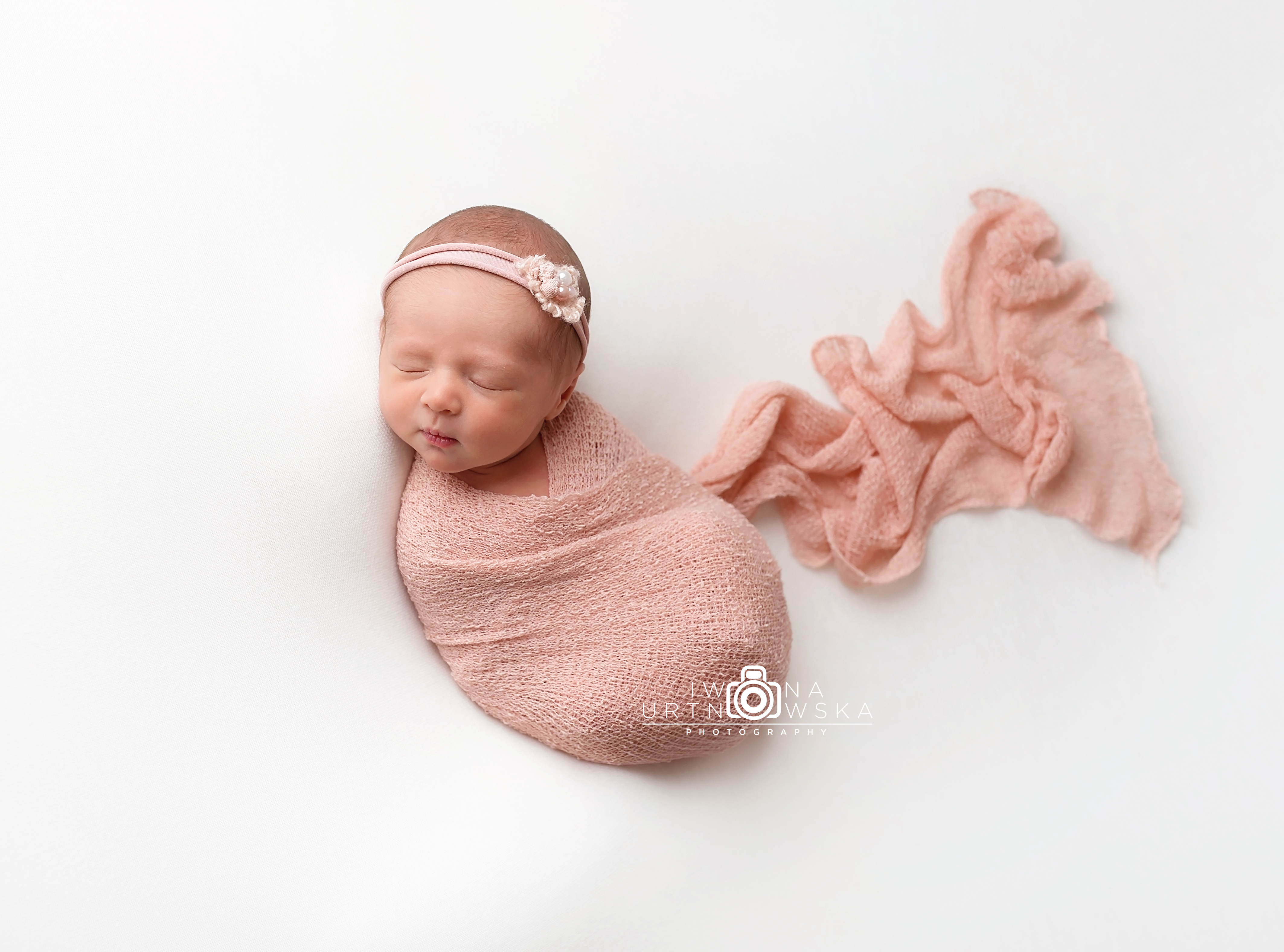 Newborn girl photographer Telford