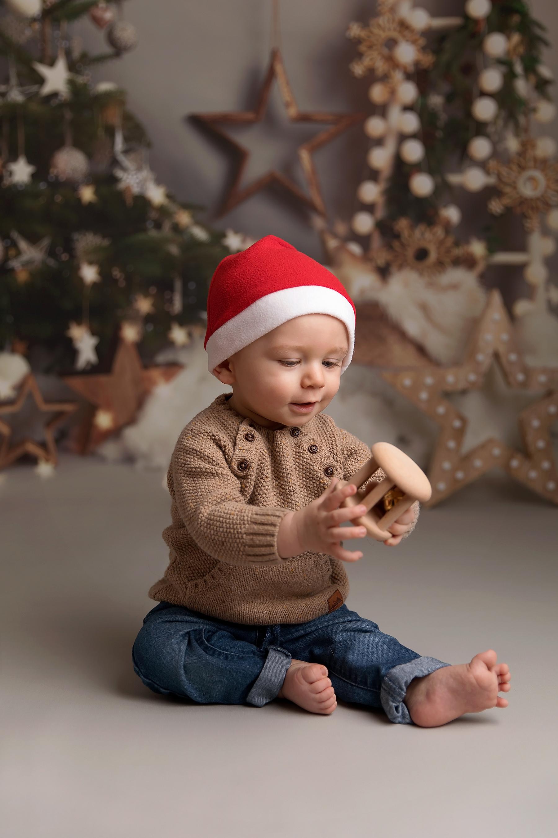 Christmas mini session Telford