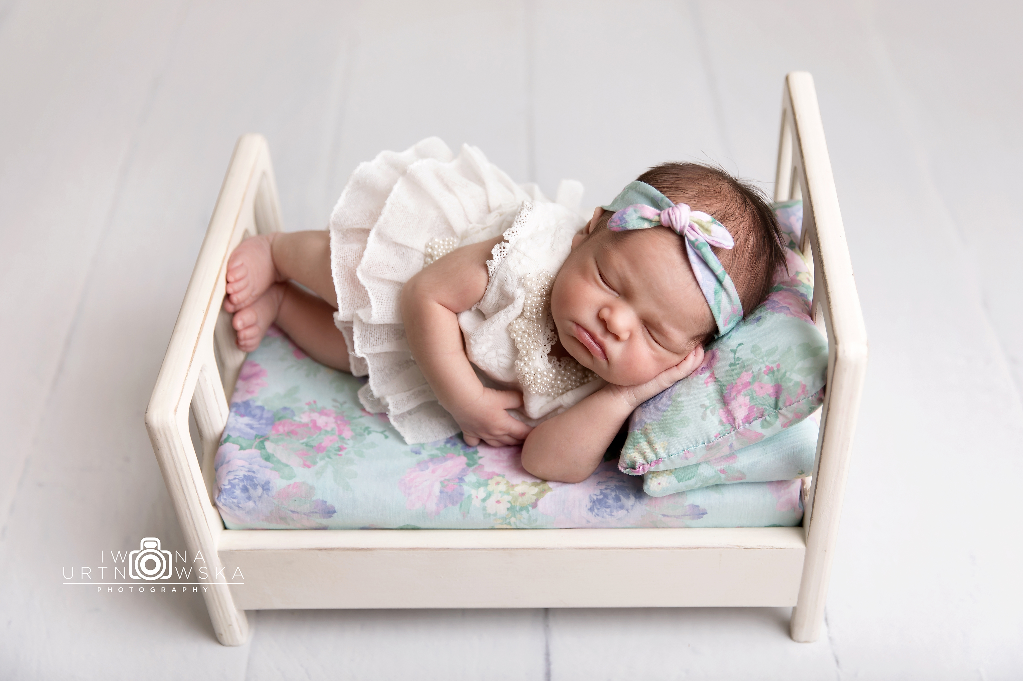Shropshire newborn posed shoot