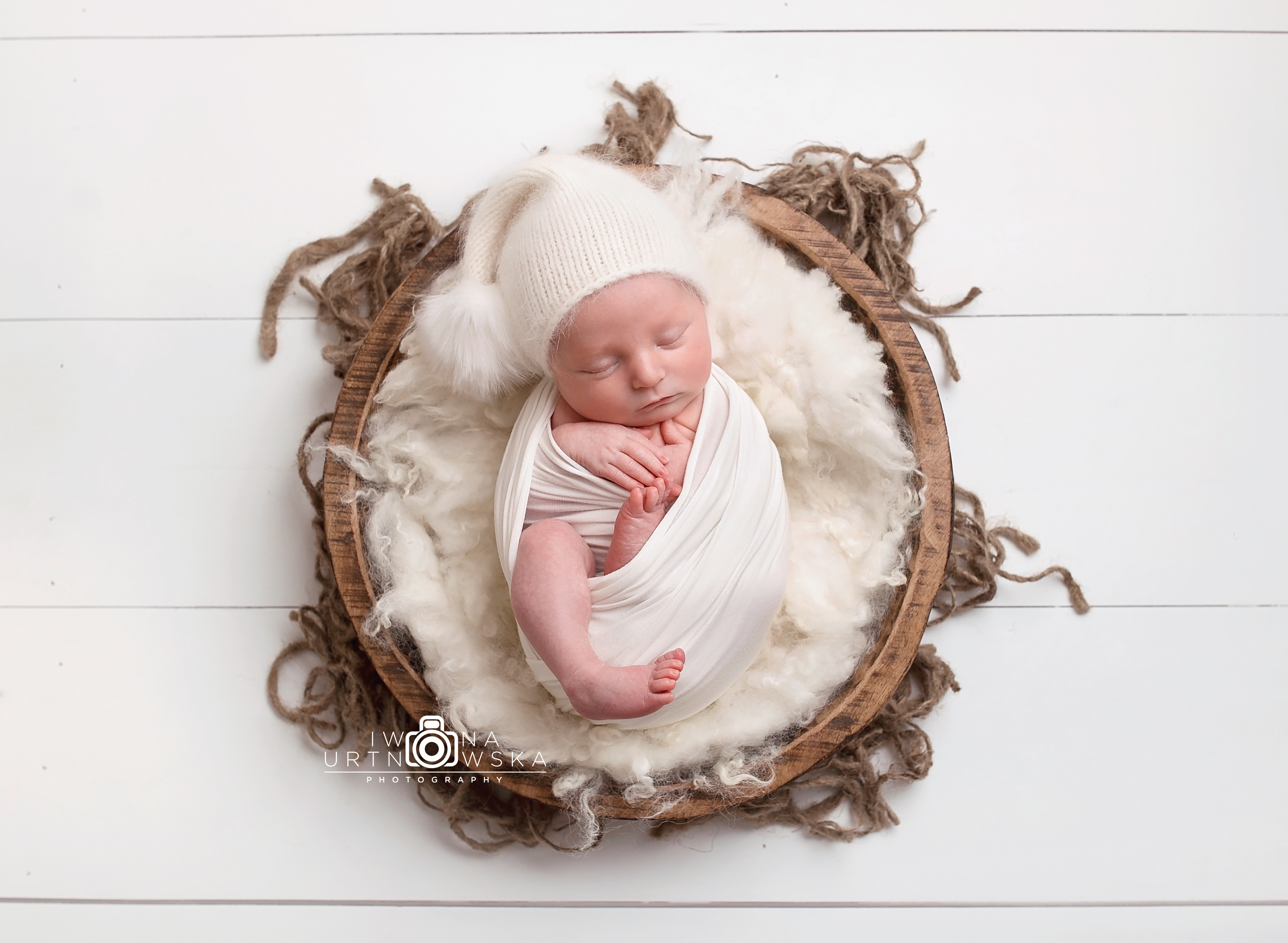 Professional newborn photo Telford