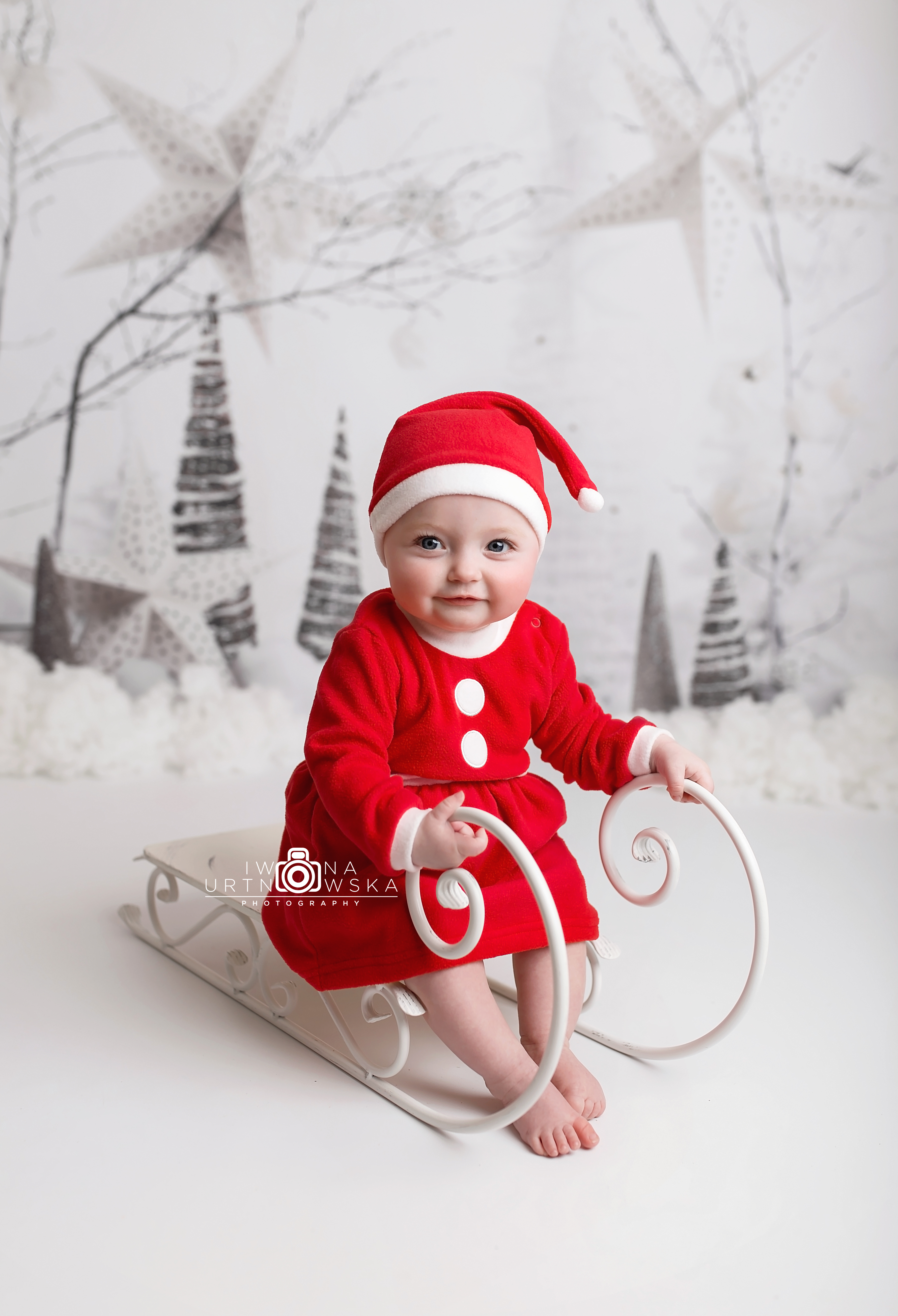 Xmas baby session Madeley