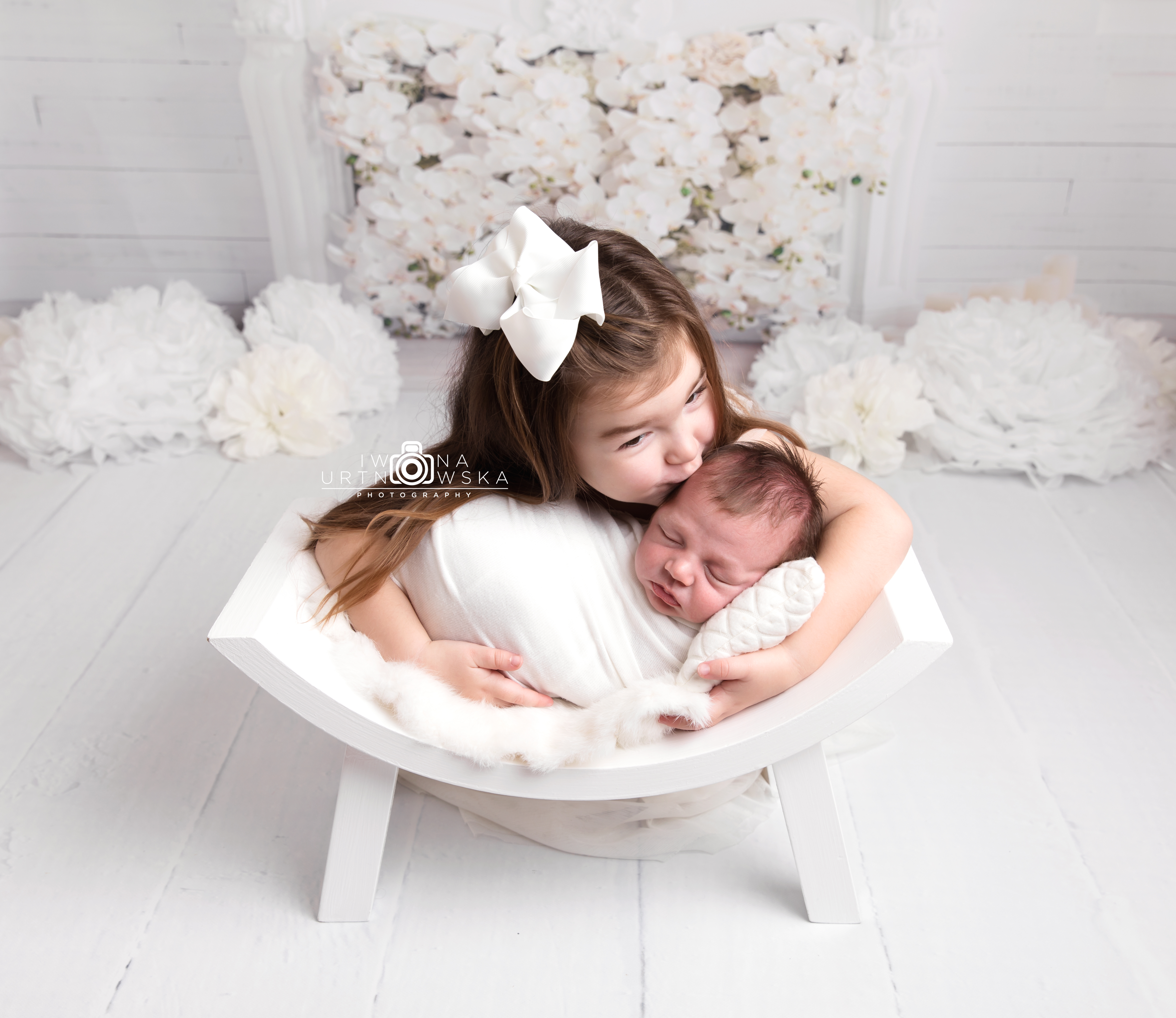 Telford Newborn Siblings Photographer