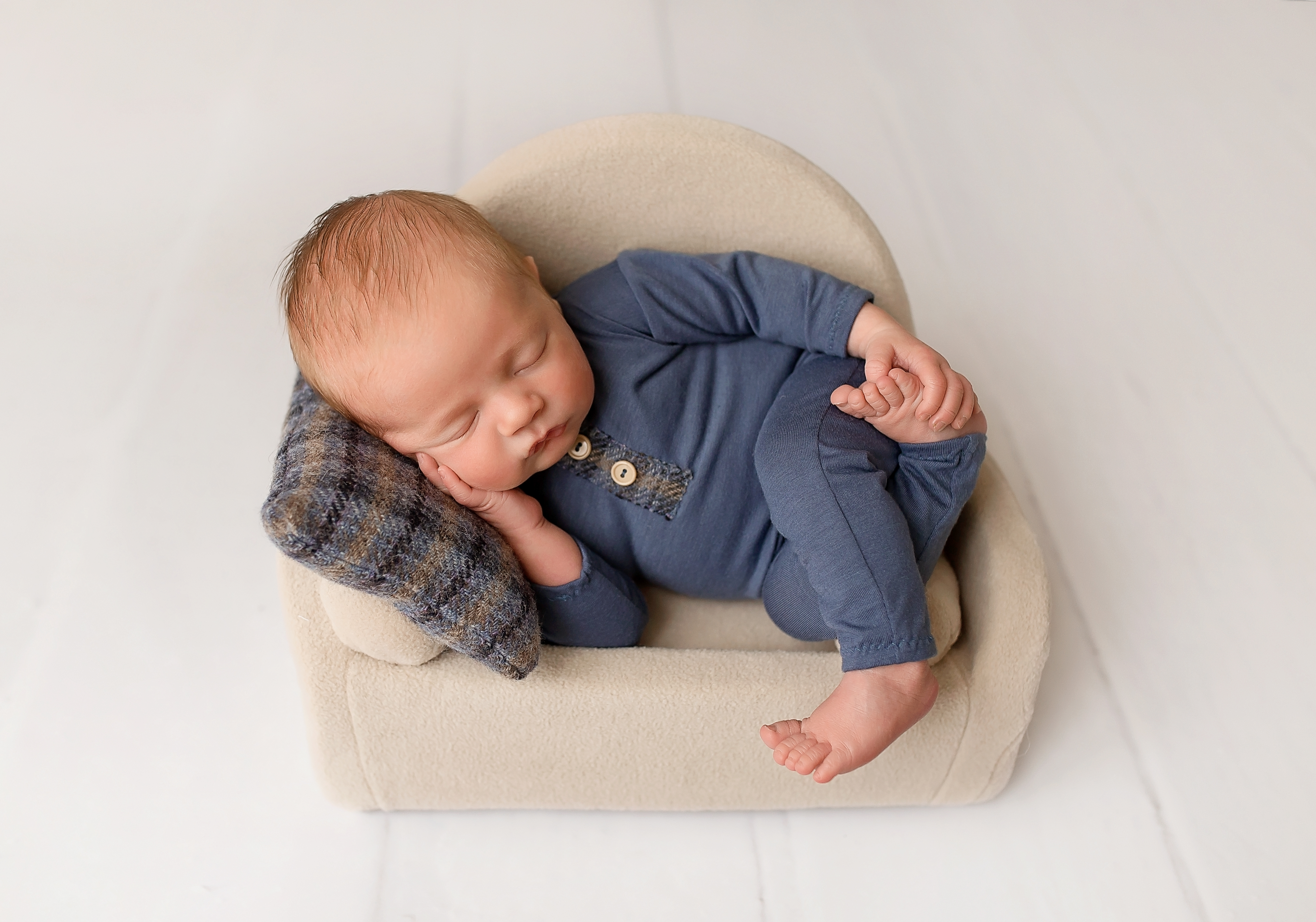 Baby boy photo shoot Telford