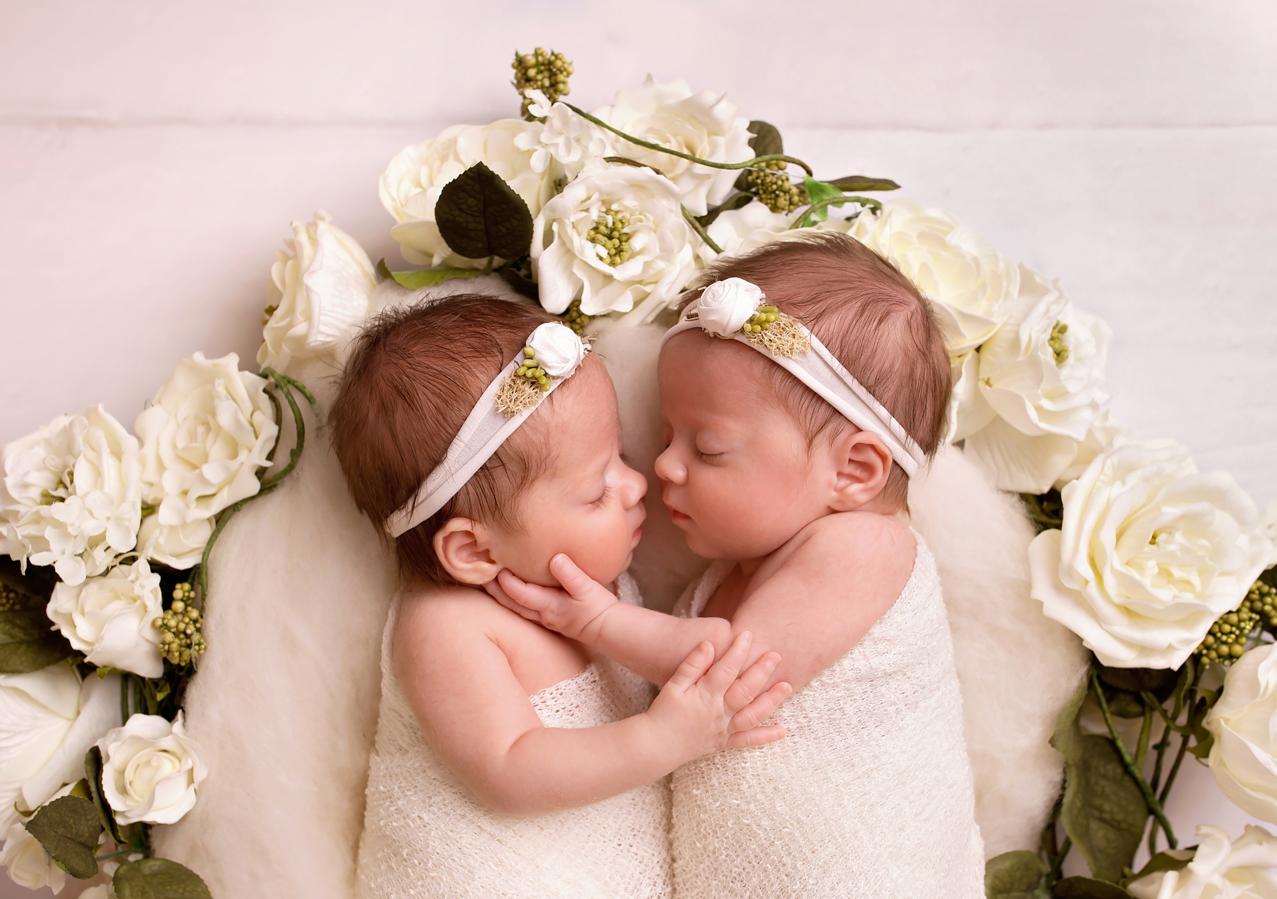 Twin girls photo session Telford
