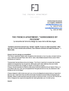 Press Release | French