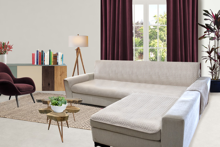 Protetor Sofá- chaise longue