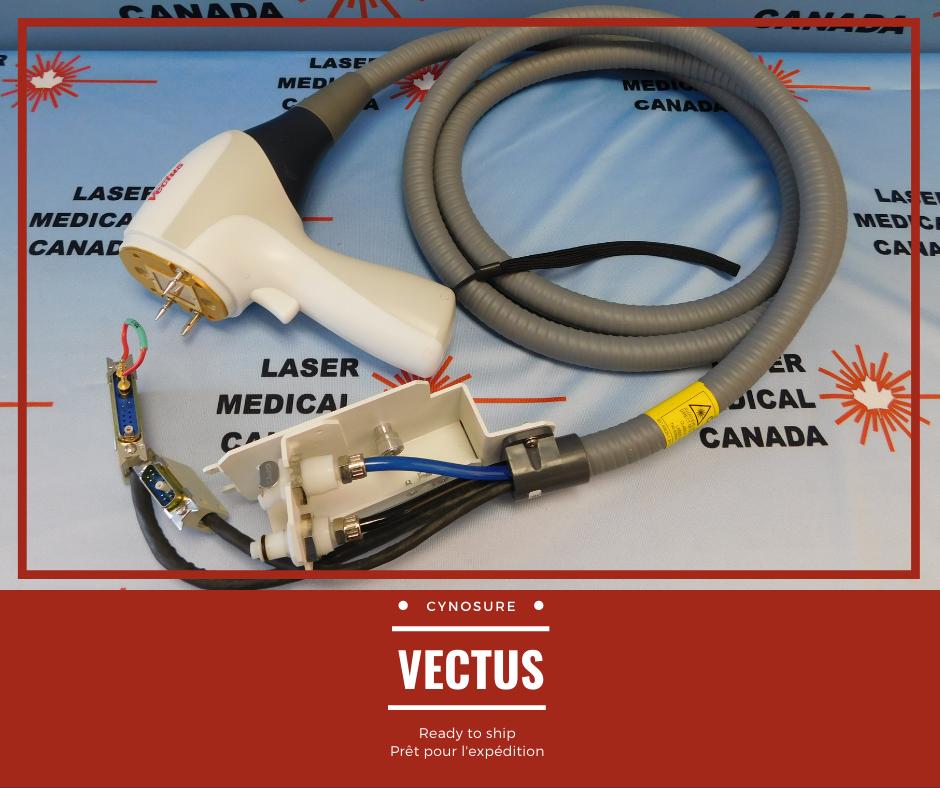 cynosure VECTUS handpiece Laser Medical Canada Pièce à main Vectus de Cynosure & Saphir Optique