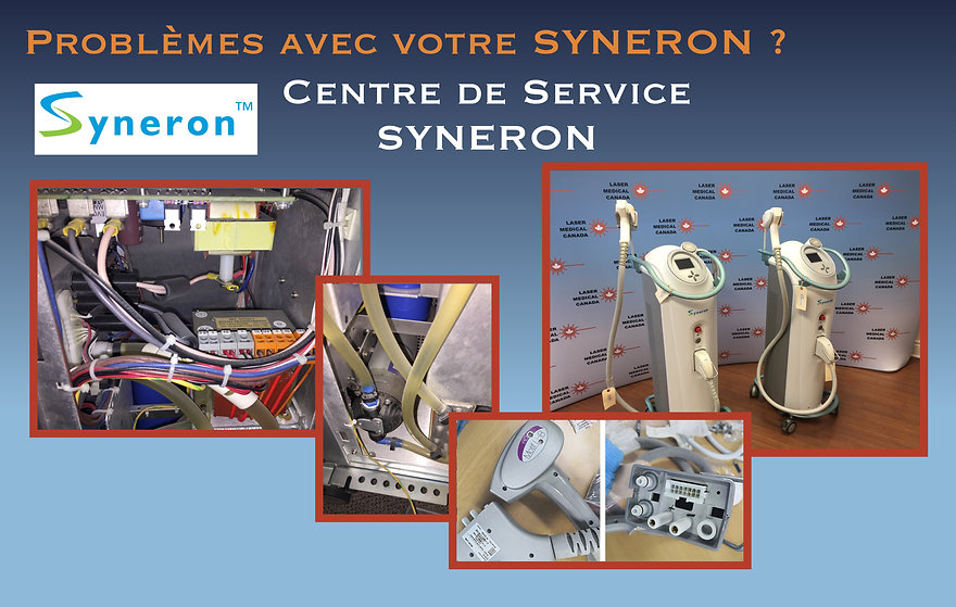 SYNERON_laser_medical_canada_repair_serv