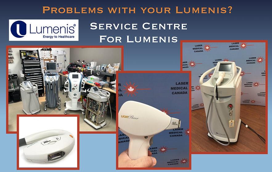 LUMENIS_Repair_sale_in_Canada_USA_laserM