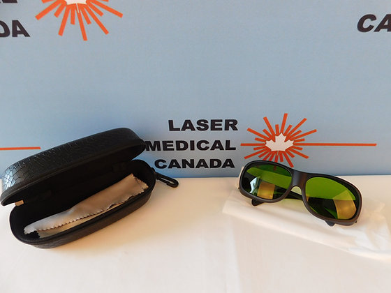Laser Protection Glasses, 740-1100nm O.D5+ & 780-1070nm OD7+