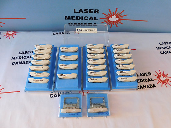 IPL filters for the Lumenis One, Lumenis M22, and Lumenis Désiré IPL handpieces