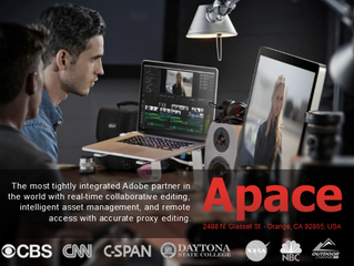 APACE Adds Features For Post Production