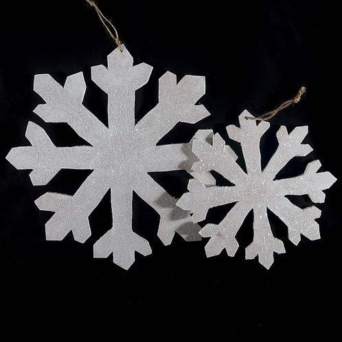 Ornament, Glitter snowflake