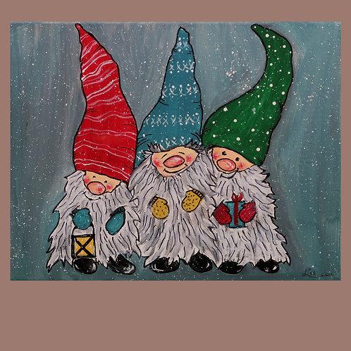 Painting, Gnomes