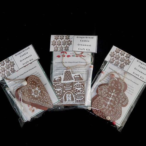 Ornament kit, Gingerbread Cookies