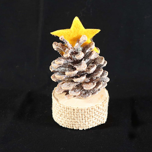 Table-top Pine cone