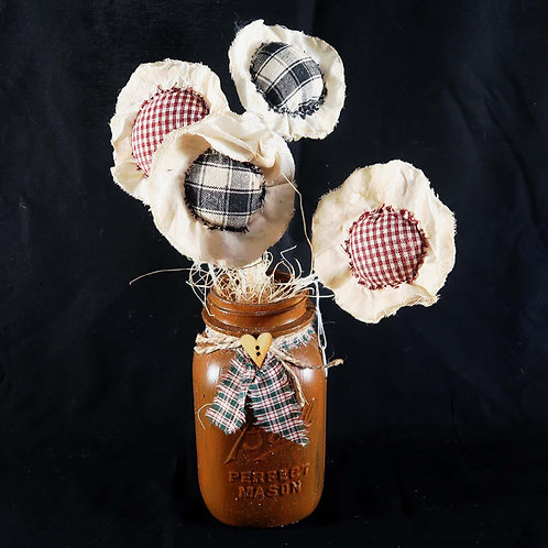 Table-top Cloth Poppies