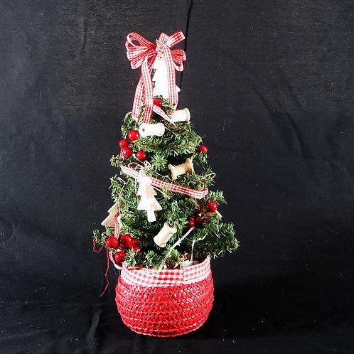 Tree Red Basket