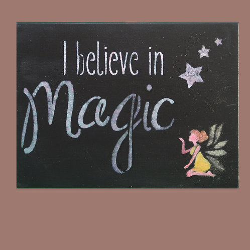 Painting, I believe in Magic