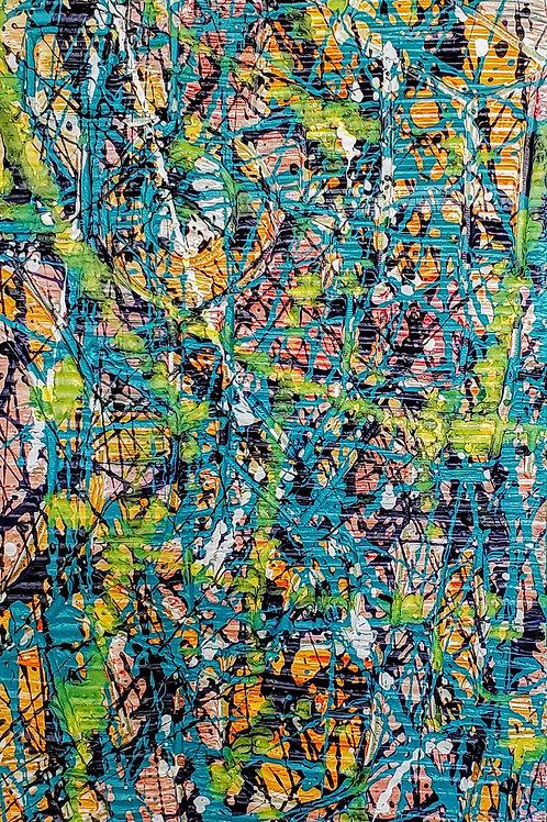 Abstract, Jackson Pollock's Style