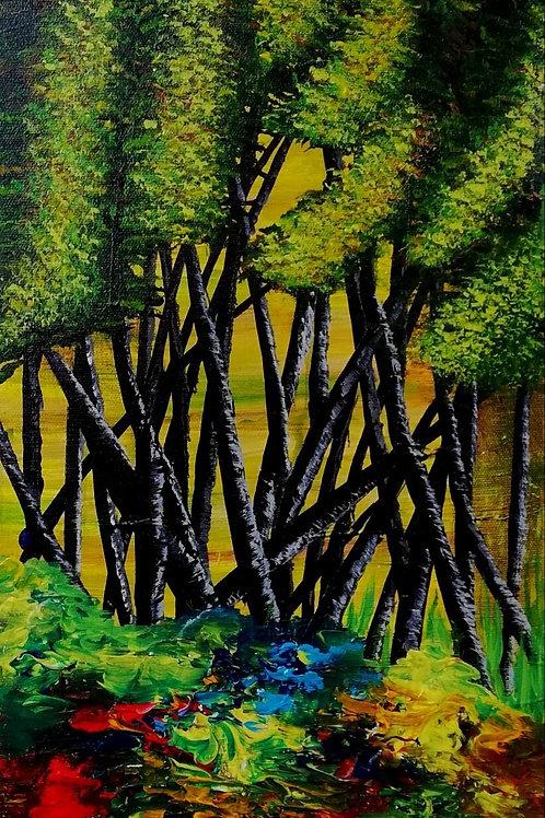 Trees 10 X30 inc