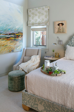 Artful Master Bedroom