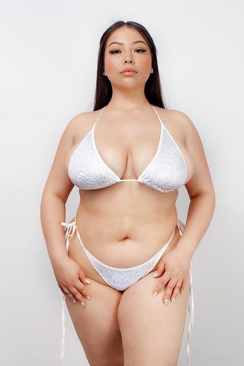 ANGELIC HOLOGRAM - bikini tops
