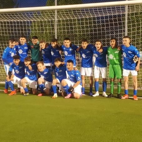 Einzug der C-Junioren in den Viertelfinal des Regio-Cup