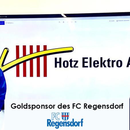 Hotz Elektro AG - Goldsponsor des FC Regensdorf