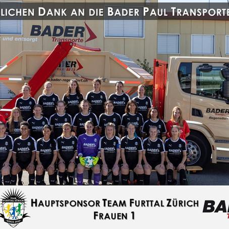 Hauptsponsor Team Furttal Zürich Frauen 1